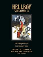 Hellboy Library Volume 4: The Crooked Man And The Troll Witch af Richard Corben, Mike Mignola