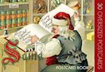 Santa Claus Postcard Book af Laughing Elephant Publishing