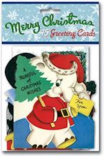 Vintage Christmas Cards Packet af Laughing Elephant