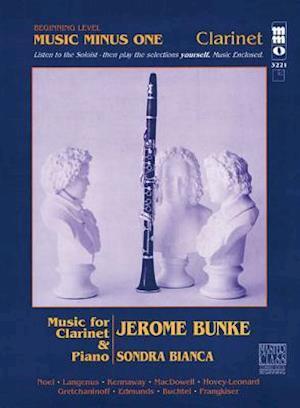 Bog, hardback Beginning Clarinet Solos - Volume 1