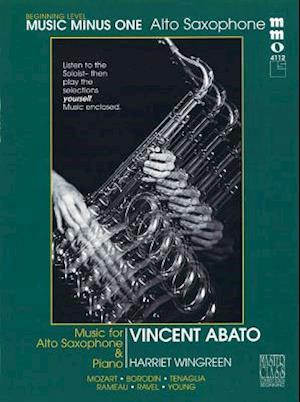 Bog, hardback Beginning Alto Sax Solos - Volume 2