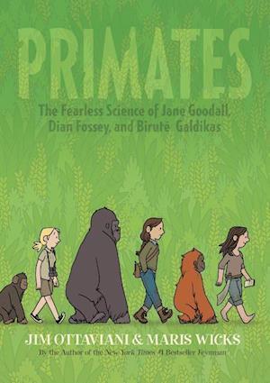 Bog, hardback Primates af Jim Ottaviani