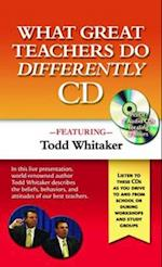 What Great Teachers Do Differently Audio CD