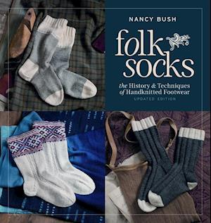 Bog, paperback Folk Socks af Nancy Bush