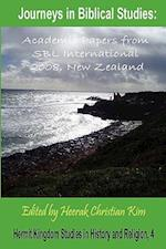 Journeys in Biblical Studies (Hermit Kingdom Studies in History And Religion)