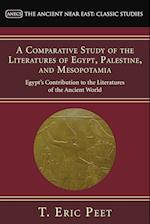 A Comparative Study of the Literatures of Egypt, Palestine, and Mesopotamia af T. Eric Peet