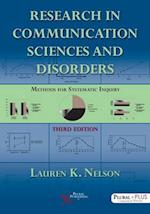 Research in Communication Sciences and Disorders