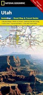 National Geographic Guide Map Utah af National Geographic Maps