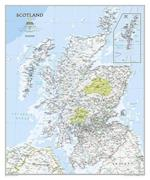 Scotland Classic [Tubed] (National Geographic Reference Map)
