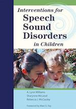 Interventions for Speech Sound Disorders in Children [With DVD] (Communication and Language Intervention, nr. 16)