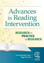 Advances in Reading Intervention af Peggy Mccardle, Carol McDonald Connor