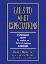 Fails to Meet Expectations: Successful Strategies for Underperforming Employees