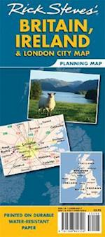 Rick Steves' Britain, Ireland & London City Map
