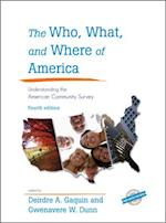 The Who, What, and Where of America (County and City Extra Series)