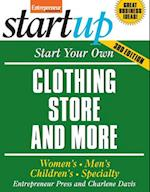 Start Your Own Clothing Store and More af Charlene Davis, Entrepreneur Press