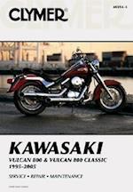 Kawasaki Vulcan 800 & Vulcan 800 Classic, 1995-2005 (clymer Motorcycle Repair Manual)