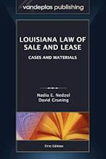 Louisiana Law of Sale and Lease af Nadia E. Nedzel, David Gruning