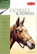 Horses & Ponies (Watercolor Made Easy)