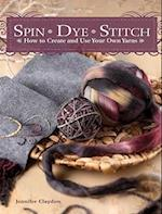 Spin Dye Stitch