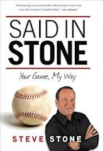 Said in Stone af Steve Stone