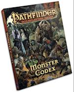 Monster Codex af Paizo Staff