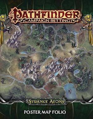 Bog ukendt format Strange Aeons Poster Map Folio af Paizo