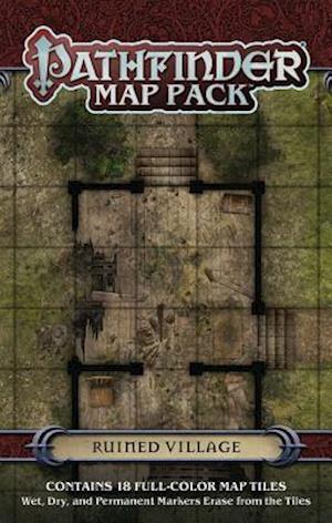 Bog, ukendt format Pathfinder Map Pack Ruined Village af Jason A. Engle