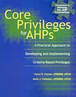 Core Privileges for Ahps