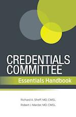 Credentials Committee Essentials Handbook af Robert J. Marder, Richard A. Sheff