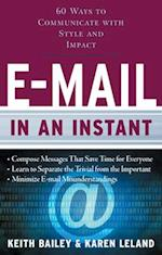 E-mail in an Instant af Keith Bailey, Karen Leland