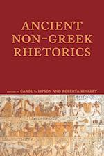 Ancient Non-Greek Rhetorics