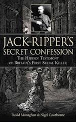 Jack the Ripper's Secret Confession af Nigel Cawthorne, David Monaghan