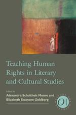 Teaching Human Rights in Literary and Cultural Studies (Options for Teaching (Paperback), nr. 38)