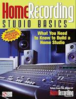 Home Recording Studio Basics