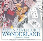 Alice in Wonderland Coloring Book: The Classic Edition