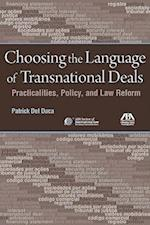 Choosing the Language of Transnational Deals