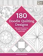 180 Doodle Quilting Designs af Karen M. Burns