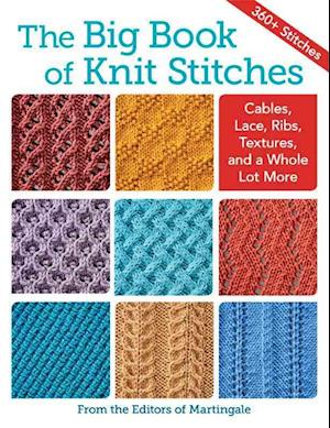 Bog, hardback The Big Book of Knit Stitches af Martingale
