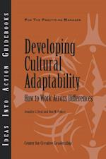 Developing Cultural Adaptability: