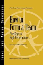How to Form a Team: