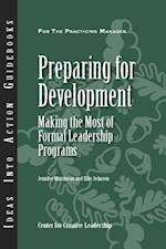 Preparing for Development: