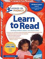 Hooked on Phonics Learn to Read Pre-k