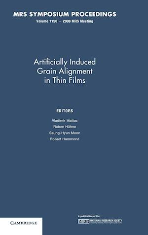 Artificially Induced Grain Alignment in Thin Films