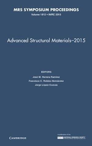 Bog, hardback Advanced Structural Materials af Jose M. Herrera Ramirez