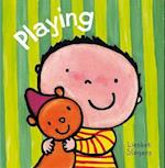 Playing (Clavis Toddler Board Books - Daily Life)