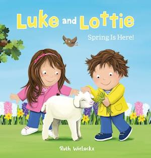 Luke and Lottie. Spring Is Here!