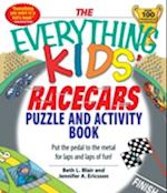 Everything Kids' Racecars Puzzle & Activity Book