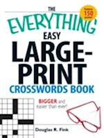 Everything Easy Large-Print Crosswords Book