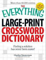 Everything Large-Print Crossword Dictionary (EverythingR)