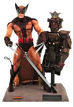 Marvel Select Brown Uniform Wolverine Action Figure